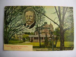 AK ,  President Taft´s Summer Home Beverly Mass , 1919