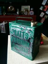 Vintage Pratts perfection Can and brass cap