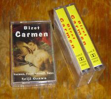 lot 3 K7 Audio Opéra Carmen de Bizet avec Jessie Norman  direction Seiji Ozawa