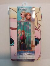 """Disney - Frozen """"Sisters Forever"""" Shower Curtain 72"""" x 72"""" (New)"""