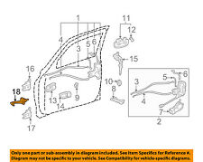 Toyota Tundra And Sequoia Driver Front Door Check Assembly 68620-0C011