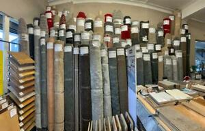 Carpet Roll Ends. Various sizes and colours.