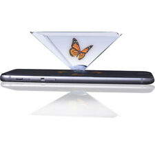 3D Hologram Pyramid Universal Display Projector Video for Any Smart Cell Phone