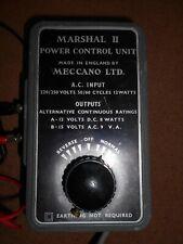 Meccano Marshall 11 power control unit for model railways