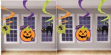 Amscan Economía Internacional remolino Decoración paquete de Halloween