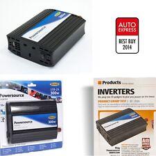 Ring 12v 300W Inverter + 2A USB In Car Power for 240V TV Laptops Fridge RINVU300