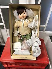 """Zapf Puppe """" Marco noch nicht Müde """" 42 cm. Mit Karton & Zertifikat."""