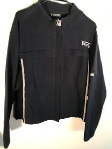 Pilates Black NWT by Marjolein Brugman Heavy-Weight Athletic Jacket Woman's XL