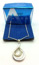 AVON Unna Pendant Necklace Jewellery Gold & Sliver Wedding Party Acessories Gift