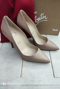 Christian Louboutin So Kate Shoes Nude Size 40 Woman 4 11/16in