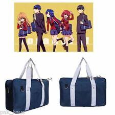 Blau Schultertasche Anime Cosplay Taschen Props Accessories Schoolbag Japanese
