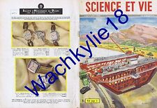Science et vie 388 01/1950 Agriculture USA Prothèse auditive Mammouths Cortisone