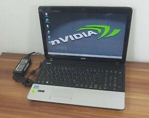 "15,6"" Gaming Acer E1-571g i3 2,3GHz 8GB/500GB nVidia GeForce 710M Webc. Wlan"
