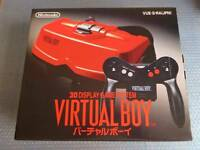Nintendo Virtual Boy Console System Japan RARE COLLECTORS ITEM New