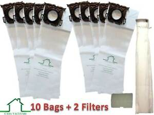 Casa Vacuums replacement for Sebo, Windsor Service Box 10 Bags + 2 Filters