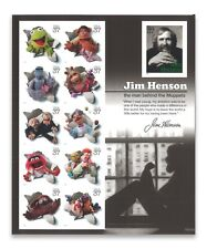 """USA 2005 JIM HENSON """"THE MUPPETS"""" SHEETLETS OF 11 SELF-ADHESIVE STAMPS MINT MUH"""