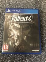 PS4 Fallout 4 Game With Instruction Manual Playstation Bethesda