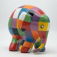 Elmer the Patchwork Elephant Ceramic Keepsake Childs Present Figurine NEW BOXED