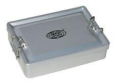 Aluminium Box wasserdicht silberfarben Alu Dose Dichtung Behälter klein Outdoor