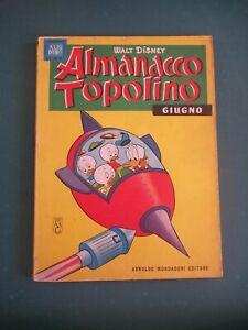 ALMANACCO TOPOLINO 1963 NUM 6 BUONO + FIGURINE