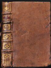 La SAINTE BIBLE par Mr De SACY Baruch Ézéchiel Daniel et Osée 1722 Tome 8 RARE