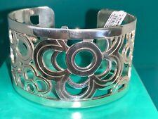 "🌸 BRIGHTON ""Christo Newberry"" Silver  Cuff Bracelet (B15) NWT🌸"