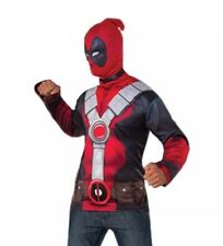 Adult Size Deadpool Halloween Party Costume Top Economy Costume
