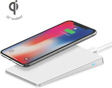 iHome Wireless Charging Pad QI, AirPad iPhone & Android, Fast Charge, White, NEW