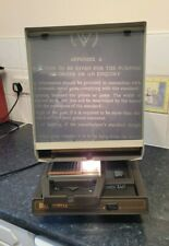 More details for bell + howell mit viiii microfiche reader / barbour microfiles 770a vgc