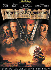 Pirates of the Caribbean: The Curse of the Black Pearl (DVD,, 2-Disc Set) Sealed