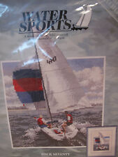 Water sport cross stitch kit by Heritage Stitchcraft