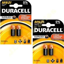 4 X DURACELL MN21 A23 k23A LRV08 Alkaline Battery 12v