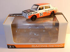 NOREV 3 INCHES 1/54 SIMCA 1000 N°34 RACING RALLYE MONTE CARLO PAM PAM RMC IN BOX