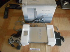 ELDORADODUJEU > CONSOLE PLAYSTATION 2 PS2 SILVER COMPLETE BOITE + 1 MANETTE + CM