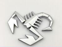 Abarth Scorpion Logo 3D Metall Auto SUV Abzeichen Emblem Aufkleber für Fiat