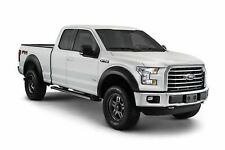 15-17 Ford F150 Bushwacker Smooth Paintable Extended Style Fender Flares Set 4