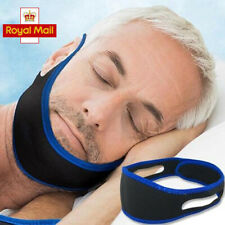 Anti Snoring Chin Strap Belt Stop Snore Apnea Jaw Support Sleeping Solution UK