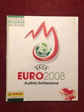 PANINI EM 2008 Sammelalbum UEFA EURO 08 KOMPLETT mit allen Stickern Stickeralbum