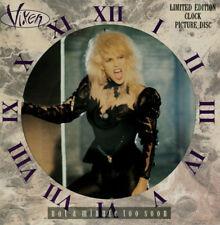 "Vixen 12"" Picture discs X 3 Vinyl OOP Love is a Killer, How much, Not a minute."