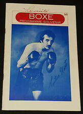 "1978 BOXING /BOXER LAVAL, QC, CANADA - ""RARE"" PROGRAM - HART, CUSSON, MELO, etc"