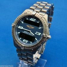 Breitling Round Wristwatches with 24-Hour Dial