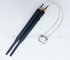 2.4GHz/5G 6dBi omni wifi Antenna RP-SMA male + Pigtail for Wlan Mini Pc U.FL/IPX