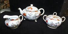 ANTIQUE ASIAN TEA POT SET SUGAR CREAMER