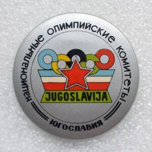 Yugoslavia Official Emblem 1984 Summer Olympic Games Los Angeles Olympiad