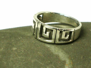 Unisex  STERLING  SILVER  925  Ring  -  Size: S  -  Gift  Boxed!