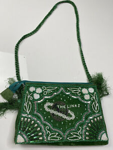 Vintage Embroidered Clutch Bag Women's Cocktail Party Purse
