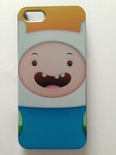 Brand New Iphone 5 or 5S Hard Plastic Adventure Time Finn The Human Phone Cover