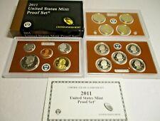 2011 Us Mint Proof Set with Box/Coa - Us Coins