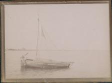 France, Voilier sur l'eau, ca.1900, Vintage citrate print Vintage citrate p