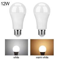 LED Lampe Licht Birne mit Lichtsensor Bewegungsmelder 12W Weiß 85-265V IP42